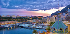 an evening in Monte Carlo (somabiswas) Tags: montecarlo monaco travel port marina evening boats sailing ferry
