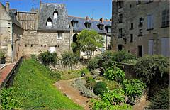Dans le vieux Tours, Tours, Indre-et-Loire, France (claude lina) Tags: claudelina france indreetloire tours jardin garden house maison architecture