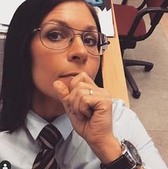 Maria (bof352000) Tags: woman tie necktie suit shirt fashion businesswoman elegance class strict femme cravate costume chemise mode affaire