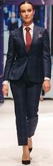 Florentin Delure (bof352000) Tags: woman tie necktie suit shirt fashion businesswoman elegance class strict femme cravate costume chemise mode affaire