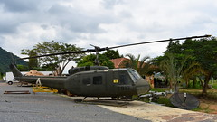 Bell UH-1H Iroquois c/n 8685 United States Army serial 66-16491 code 917 (Erwin's photo's) Tags: thailand chon buri war camping coffee preserved aircraft wrecks relics wr aviation thai usar bell uh1h iroquois cn 8685 united states army serial 6616491 code 917