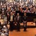 DSCN0132centre Conductor John Gibbons, Composer Howard Blake, Piano Concerto Soloist Julian Trevelyan. 30th November 2019