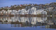 Høyvoldbrygge, to day 1. december (gormjarl) Tags: kristiansand wather lake fjord sunset beach water sky natur night art light sun cloud landscape street river otra norway city citylife