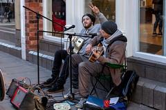 Busking in Nottingham (Mr Joel's Photography) Tags: shamanerginer buskers busking street musicians nottingham jasonvong kennethhines kennethhinesjnr