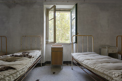 sleep well (UE-Photography - urban exploration & travel) Tags: exploration italy redcrosshospital ruine urbanexploration urbex abandoned canon creepy decay derelict europa exploring forgot lostplace marode neglected orphanage photography rotten rusty spooky tragedy ue verlassen