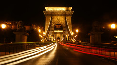 Szechenyi Chain Bridge in Budapest...#108 (Guy Lichter Photography - 5.3M views Thank you) Tags: canon 5d3 hungary budapest bridge chainbridge szechenyichainbridge buda pest night lights