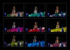 Barnsley Winter Lights Festival (S.R.Murphy) Tags: barnsley barnsleyinpolyptych barnsleytownhall lightshow architecture yorkshire england lightroomcc stuartmurphy fujifilmxt2 fujifilmxf1855mm
