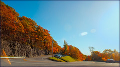 The Hairpin (Timothy Valentine) Tags: foliage 1019 sky roadside berkshires vacation 2019 route2 sliderssunday northadams massachusetts unitedstatesofamerica