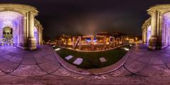 360 Luces Puerta Alcalá (dmelchordiaz) Tags: puerta alcalá alcala madrid navidad noche night luces city 360 panoramic panorámica