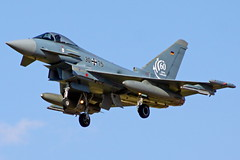 30+75 EF2000 Eurofighter F-2000A Typhoon 60 jahre Luftwaffe  TLP 21-09-16 (Antonio Doblado) Tags: 3075 ef2000 eurofighter f2000a typhoon tlp aviacion aviation aircraft airplane fighter albacete