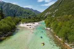 Soča Valley (marypink) Tags: sočavalley valledellisonzo slovenia bovec river mountains canoe nikond800 nikkor1635mmf40 fiumecolorsmeraldo