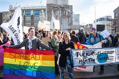 amsterdam dam 14-2 (hansfoto) Tags: amsterdam protest demonstration climate klimaatmars klimaatspijbelaars earthstrike