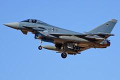 30+51 EF2000 Eurofighter F-2000A Typhoon  TLP 21-09-16 (Antonio Doblado) Tags: 3051 ef2000 eurofighter f2000a typhoon tlp aviacion aviation aircraft airplane fighter albacete