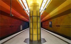 Candidplatz (3) (leuntje) Tags: munich münchen bayern bavaria deutschland germany candidplatz metro ubahnhof architecture egonkonrad sabinekoschier pieterdewitte