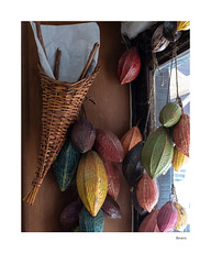 Beans (agianelo) Tags: coffee chocolate wicker basket window display store
