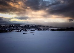 Blizzard is coming (Kjetil Øvrebø) Tags: blizzard cloud sunset nature outdoor farm winter storm snow landscape winterwonderland leinstrand norway norge trondheim ter