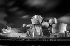 Guggenheim Museum Bilbao - Spain (Patrik S.) Tags: ngc sony a7m3 a7iii alpha spain bilbao bizkaia travel northern passengers sack station houses colorful floor deep down ticket city citylife skyline time people day casas ciudad viaje españa museum guggenheim new york art river blur museo arte rubor puente longexposure long exposure larga exposición largaexposición reflection reflexión roja rojo red cielo nubes nublado palma blue azul famosa famous tourist tourista attraction atracción difuminar dorada golden spider maman araña night clouds noche