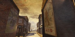 Where is Scrooge? (koro/carnell) Tags: secondlife scrooge dickens achristmascarol