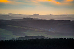 Abendstimmung über der Eifel (clemensgilles) Tags: automne dawn hiking bergwanderung berge beautiful deutschland eifel germany