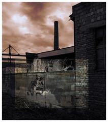Rage (r0llsky) Tags: streetart urban friche urbex strasbourg brique usine factory