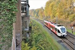 DSC_0343 b (mathijs.ve) Tags: arriva spurt kema treinen trein arnhem 10258 zoetenlaboratorium 1937 oosterbeek dieseltrein stoptrein d5200 verlaten herfst bovenleiding