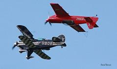 Mudry Cap 222  n° 001  ~ F-WWMZ & Pitts S-2B  n° 5289  ~ F-HBOB (Aero.passion DBC-1) Tags: 2019 meeting fertéalais dbc1 david biscove aeropassion avion aircraft aviation plane col airshow mudry cap 222 ~ fwwmz pitts s2 fhbob