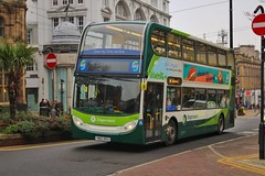 Stagecoach 12166 / YN62 BSU (TEN6083 (kieron mathews)) Tags: bus buses nebuses transport publictransport stagecoach stagecoachyorkshire 12166 sheffield alexanderdennis trident2 enviro400hybrid yn62bsu