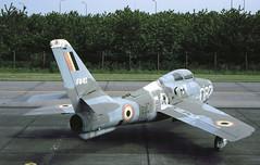 F-84F Belgium (Rob Schleiffert) Tags: f84 thunderstreak f84f belgianairforce belgischeluchtmacht brustem sttruiden fu82
