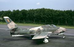 F-84F Belgium (Rob Schleiffert) Tags: f84 thunderstreak f84f belgianairforce belgischeluchtmacht brustem sttruiden fu105