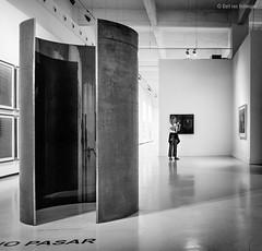 CAC I (Bart van Hofwegen) Tags: art museum cac exposition exhibition modernart blackandwhite monochrome sculpture