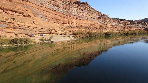 Utah - Moab: Colorado River @ Moab Canyon Pathway (near Lions Park)