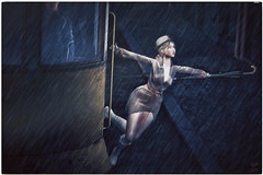 Singing in the Rain (eiloodoolittle) Tags: minimal backdropcove anypose