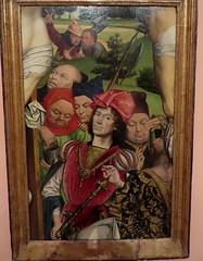 """Le bon centurion"", 1477-1478, Derick Baegert (c. 1440-c. 1515), Musée Thyssen-Bornemisza, paseo del Prado, Madrid, Castille, Espagne (byb64) Tags: madrid мадрид испания кастилия castille vieillecastille castilla castillalavieja eu europe europa европа espagne espana espanha spain spagna spanien ue museothyssenbornemisza muséethyssenbornemisza thyssen thyssenbornemisza musée museum museo музей музейтиссенаборнемисы derickbaegert flamand gothique gotico gothic baegert renaissance renacimiento rinascimento christ cristo jesus jésus"