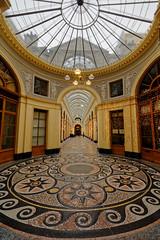 galerie Vivienne (** [ Im@ges in L ]) Tags: paris commerces galerie vivienne passage verrière mosaïque architecturale canon