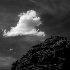 In Canyons 414 (noahbw) Tags: az arizona d5000 nikon waterholecanyon abstract blackwhite blackandwhite bw canyon cliffs cloud clouds desert hills landscape monochrome natural noahbw rock sky spring square stone