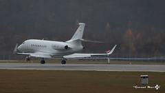 Dassault Falcon 2000LX, Jet Aviation Business, HB-JFI (maxguenat) Tags: lsgg gva avion airplane aircraft décollage