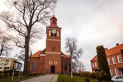 Kościół Świętych Apostołów Piotra i Pawła w Węgorzewie (Tymcio Piotr) Tags: węgorzewo