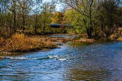 Floyds Fork - Beckley Creek Park (tduaneparker) Tags: nature landscape bridge autumn stream creek park dx sigma1750mmf28os sigma nikond7100 nikon louisville kentucky theparklands beckleycreekpark floydsfork