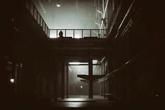 Kraftwerk Berlin (elisachris) Tags: kraftwerk berlin industriekultur industrialculture sepia schwarzweis blackandwhite dark licht schatten light shadow ricohgr