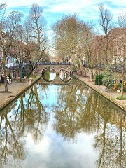 Canals of Utrecht (india_snaps) Tags: reflections utrecht canals