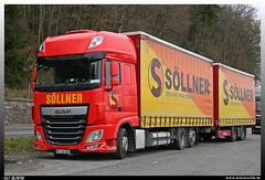"DAF XF 440 ""Söllner"" (uslovig) Tags: daf xf euro 6 440 söllner spedition kronach deutschland germany lkw camion camiones laster lastwagen lastkraftwagen truck hängerzug krone"