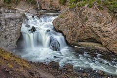 Firehole Falls (Phil's Pixels) Tags: fireholeriver fireholdfalls waterfall thermalwaters warmriver yellowstone yellowstonenationalpark wyoming