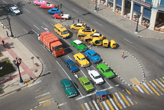 Havana from Above (Pavlo Kuzyk) Tags: cars antique road centralpark city lorry canon
