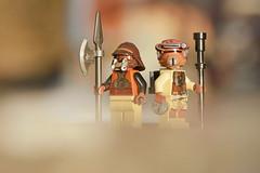 LEGO Star Wars Disguises (weeLEGOman) Tags: lego star wars disguises disguise lando calrissian skiff guard princess leia boushh return jedi bounty hunter minifigure minifigures figbarf toy macro photography outdoors outside uk nikon d7100 105mm robert rob trevissmith weelegoman