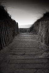 This way to the beach (aidy14) Tags: beach fylde lancashire landscape sea seaside stannes