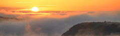 Coucher sur la vallée de la Vère (Stratoosfer - Puycelsi France) Tags: ngc saariysqualitypictures coucher soleil crepuscule canon 5dmark4