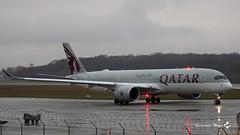 Airbus A350-941, Qatar Airways, A6-AMH (maxguenat) Tags: lsgg gva avion airplane aircraft décollage
