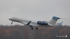 Gulstream 6, Global Jet Austria, OE-LEO (maxguenat) Tags: lsgg gva avion airplane aircraft décollage