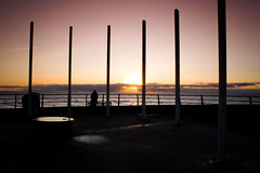 Sun set (aidy14) Tags: beach blackpool lancashire sea seaside sunset