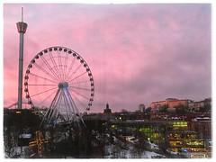 Göteborg 2019 (claudia.schillinger) Tags: göteborg sweden liseberg gothiatowers hotel bigwheel park fun universeum snapseed tower sunrise